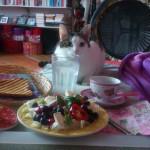 Bettfrühstück mit Rosi